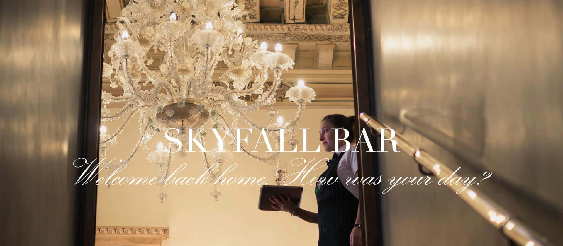 Skyfall bar