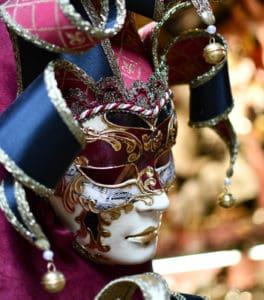 Mask of Venice Carnival