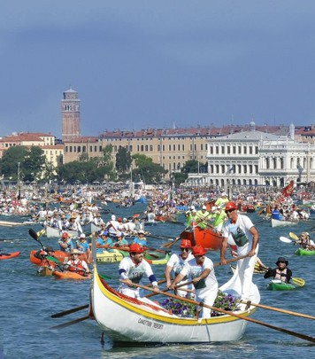 Vogalonga in Venice